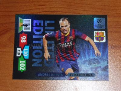 2013-14 Panini Adrenalin XL Champions League LIMITED 1.
