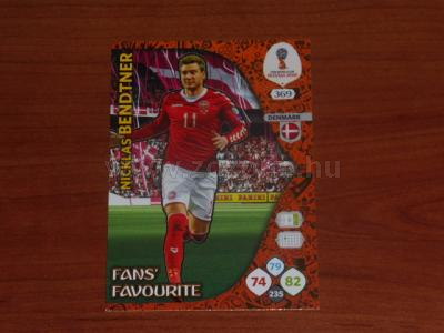 2018 WORLD CUP RUSSIA Panini Adrenalyn XL FAN'S FAVOURITE  1.