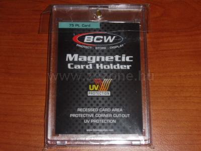 Mágneses kártya tartó 75pt. kártyához 1.