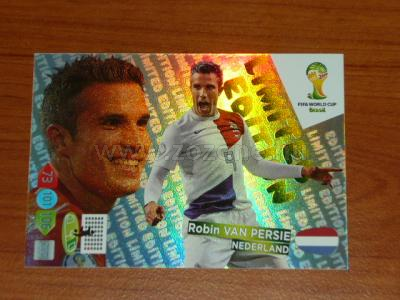 2014 WORLD CUP Panini Adrenalyn XL Limited Brasil 1.